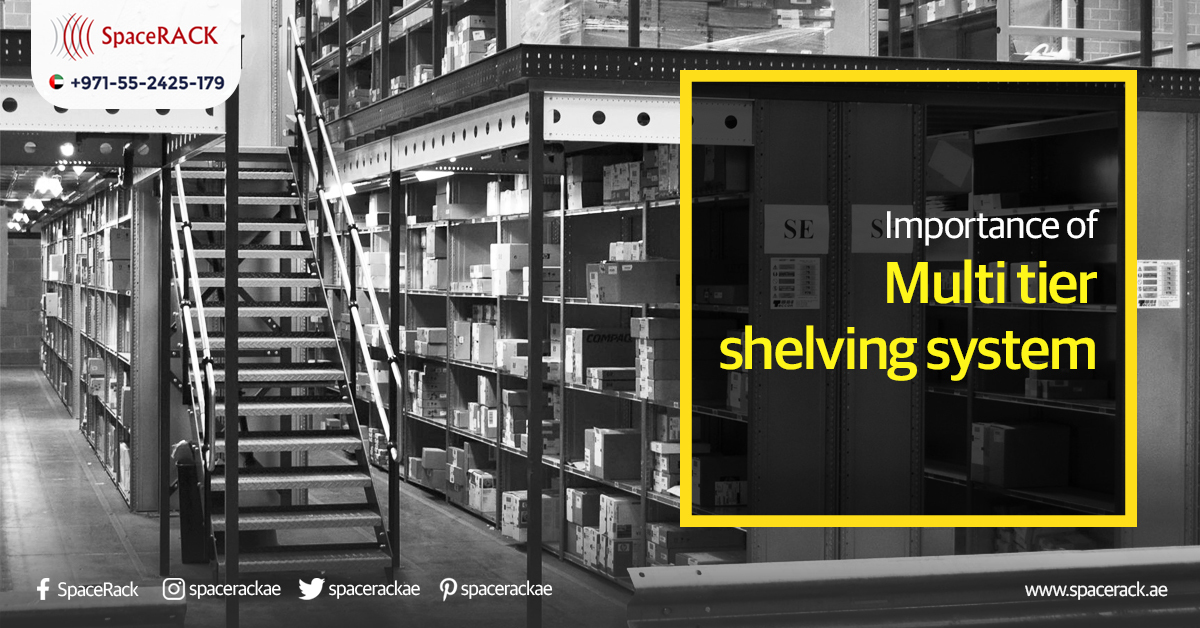 Importance of Multi-Tier Shelving System