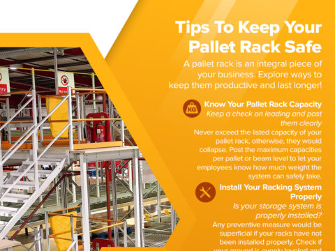 Tips To Keep Your Pallet Rack Safe