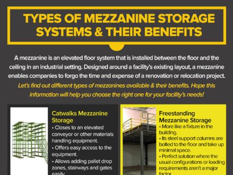 Types of Mezzanine Storage Systems in UAE
